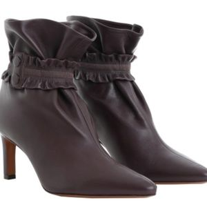 This season! Zimmerman Leather Sock Bootie